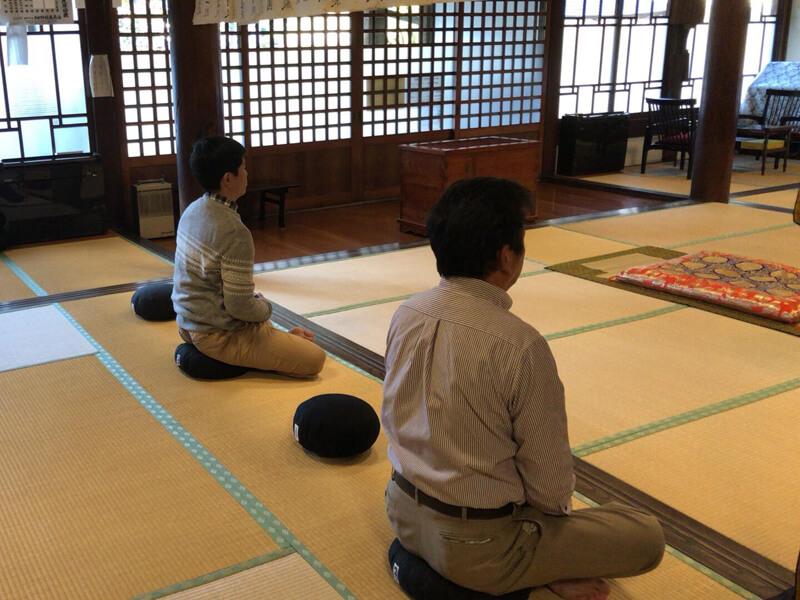 円通寺の坐禅会
