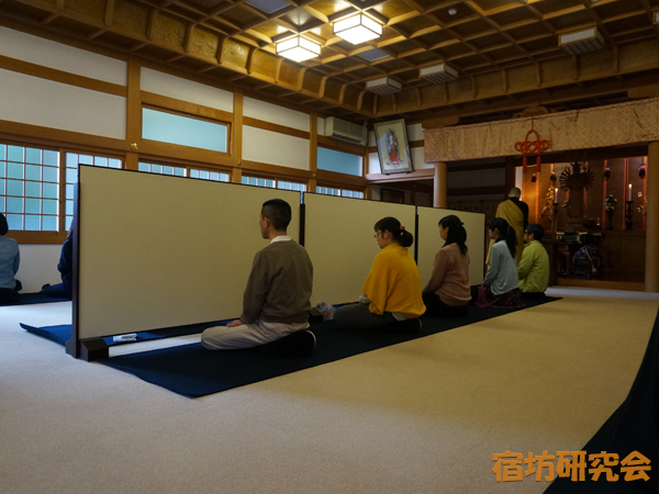 高乗寺の座禅