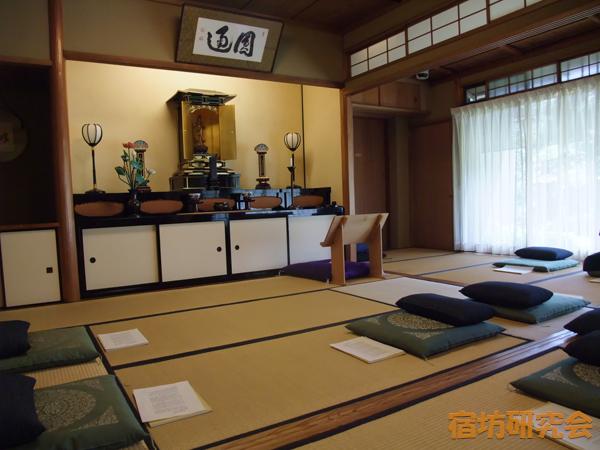 相国寺別院の座禅会