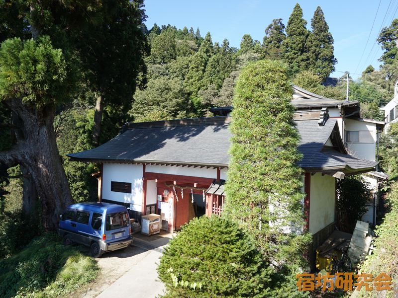 駒鳥山荘(東京都・御岳山)
