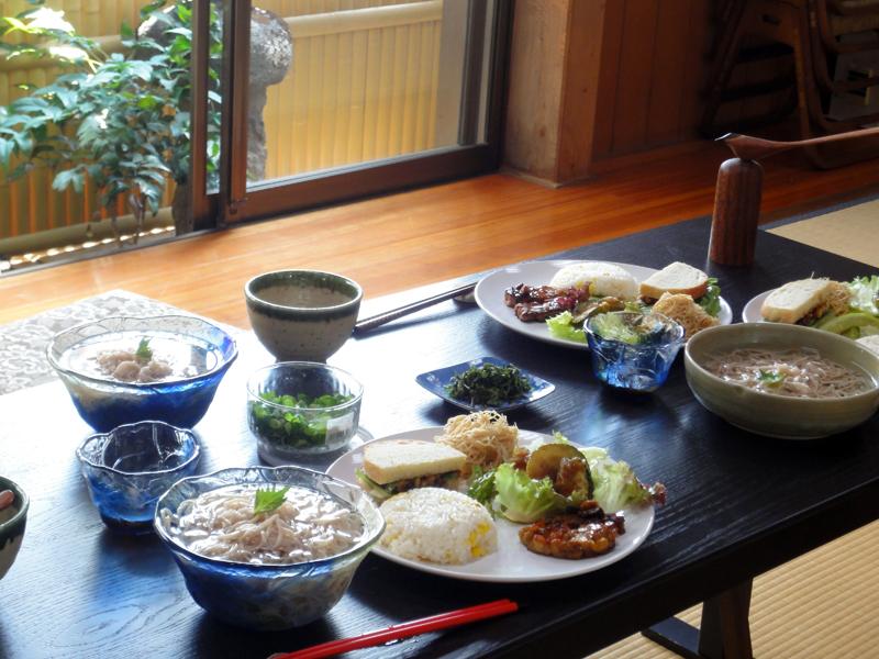 大蓮寺の精進料理
