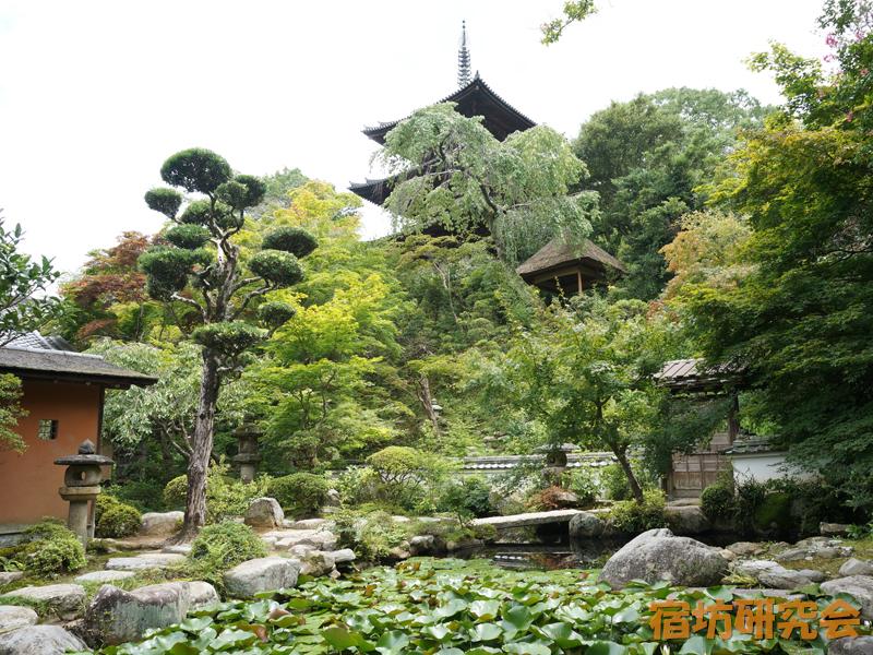 当麻寺中之坊の香藕園