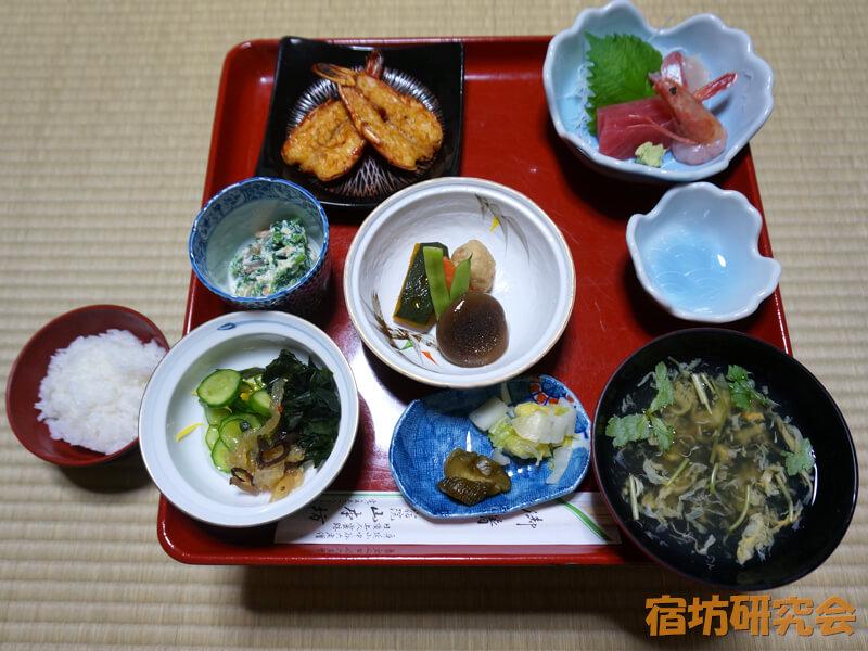 山本坊の夕食