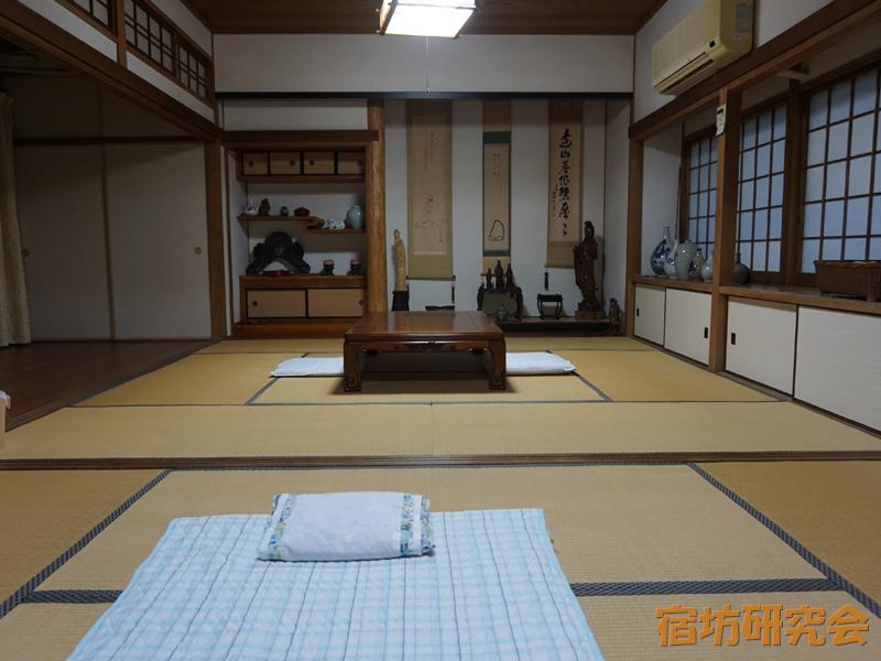 自得庵遊禅館の客室