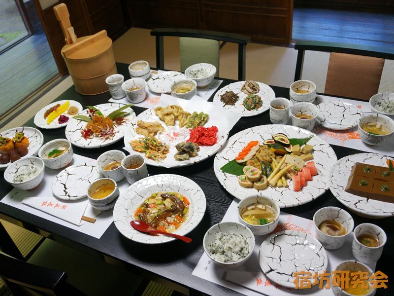 海宝寺の普茶料理