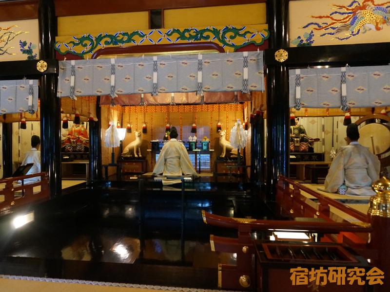 三峯神社興雲閣の御日供祭
