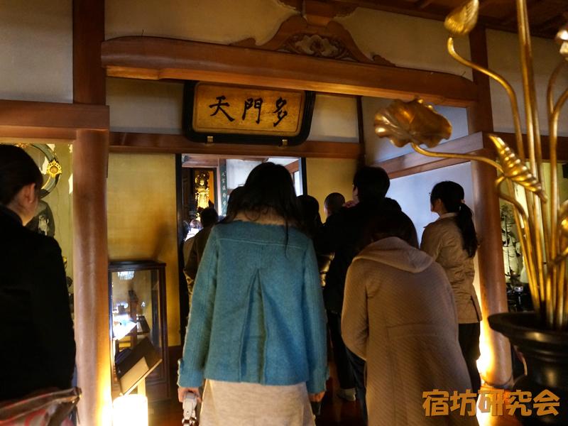 勝林寺の仏像拝観