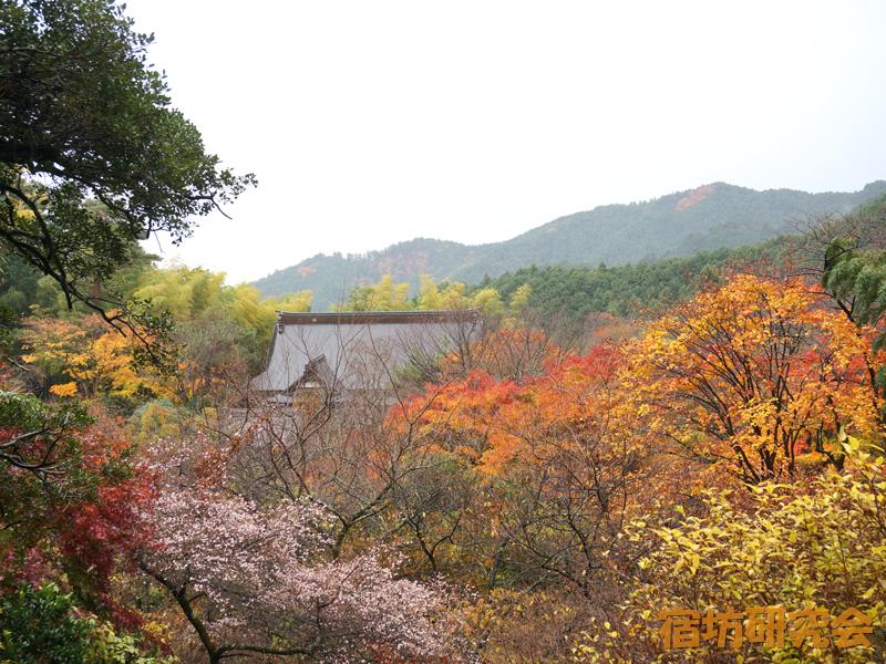 竹寺の境内
