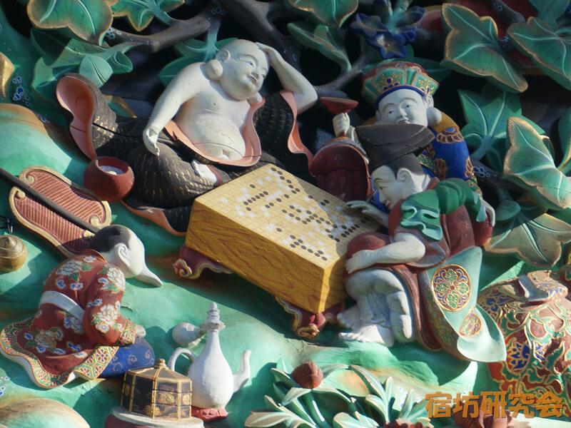 妻沼聖天山の国宝本殿彫刻