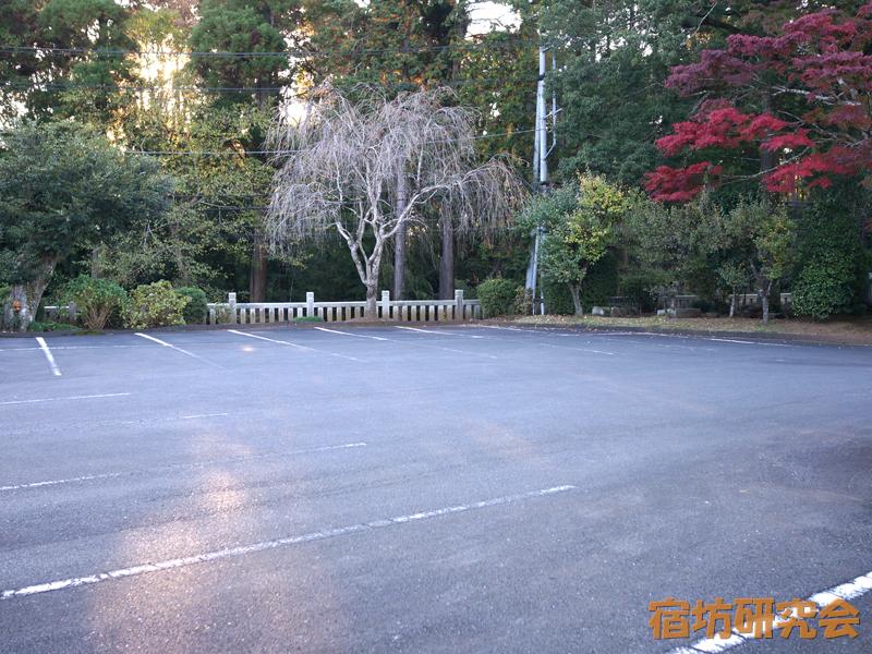 東伝院の駐車場
