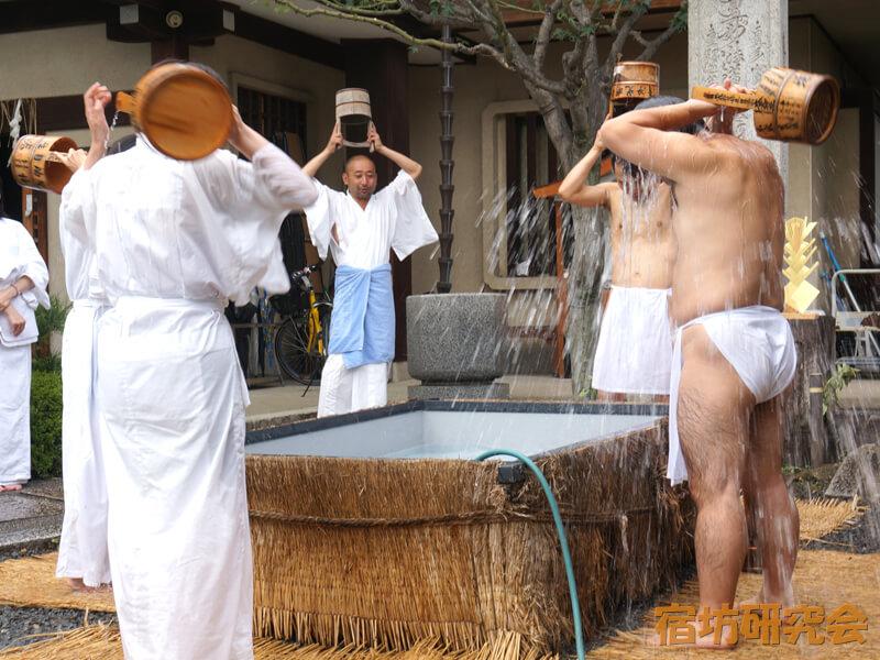 本昌寺の水行