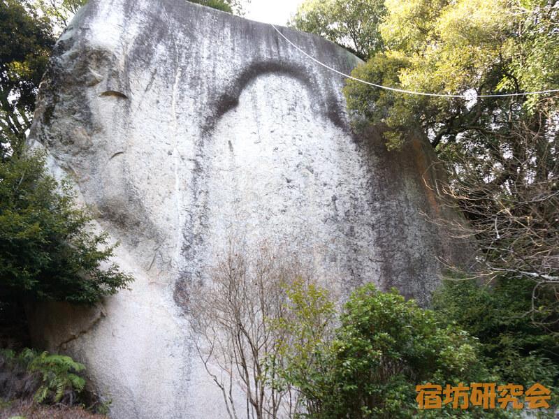 笠置寺の磨崖仏