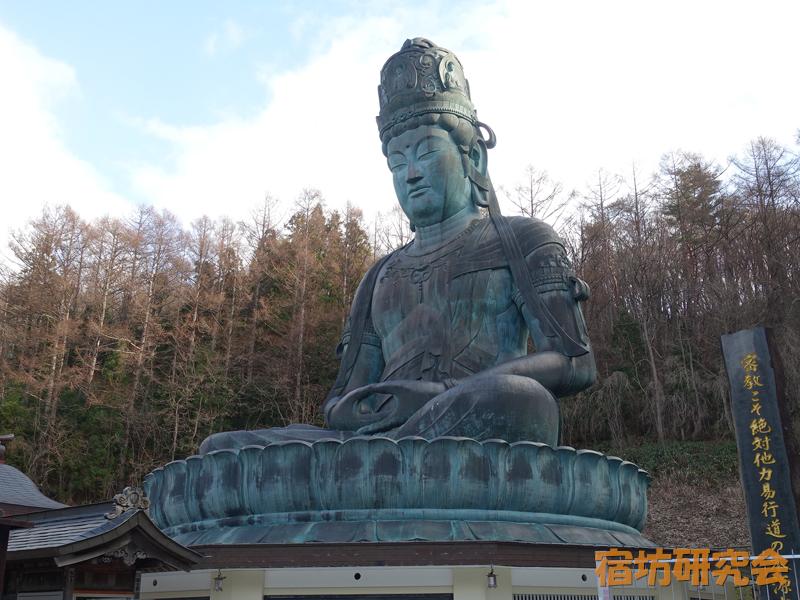 青龍寺(昭和大仏)(青森県青森市)