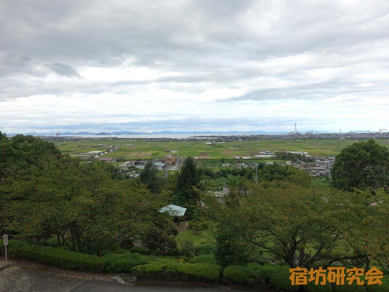 石鎚神社からの眺め