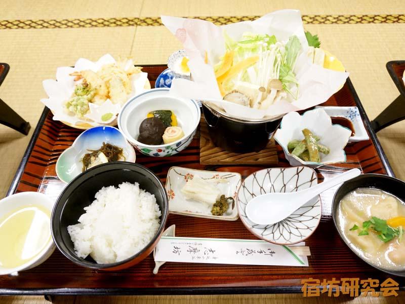 志摩房の夕食