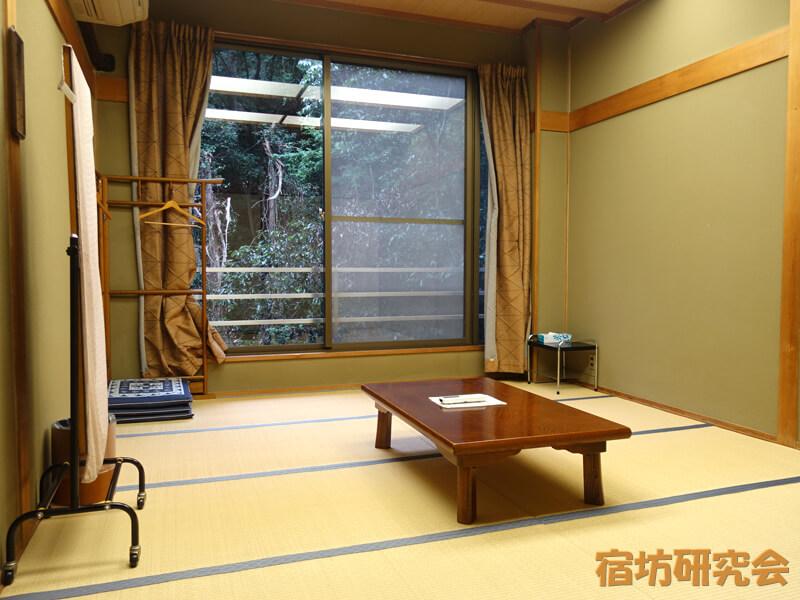 石鎚神社会館の客室