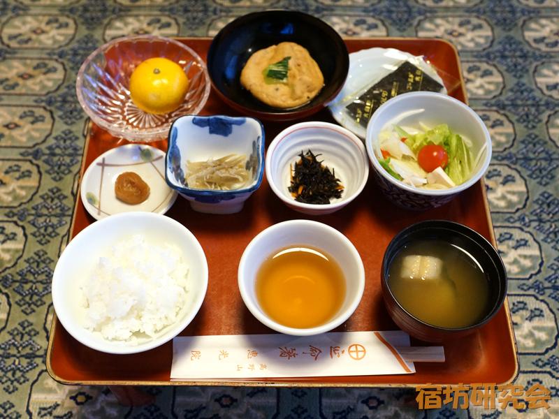恵光院の朝食