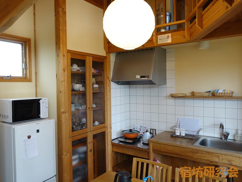 一畑山コテージのキッチン