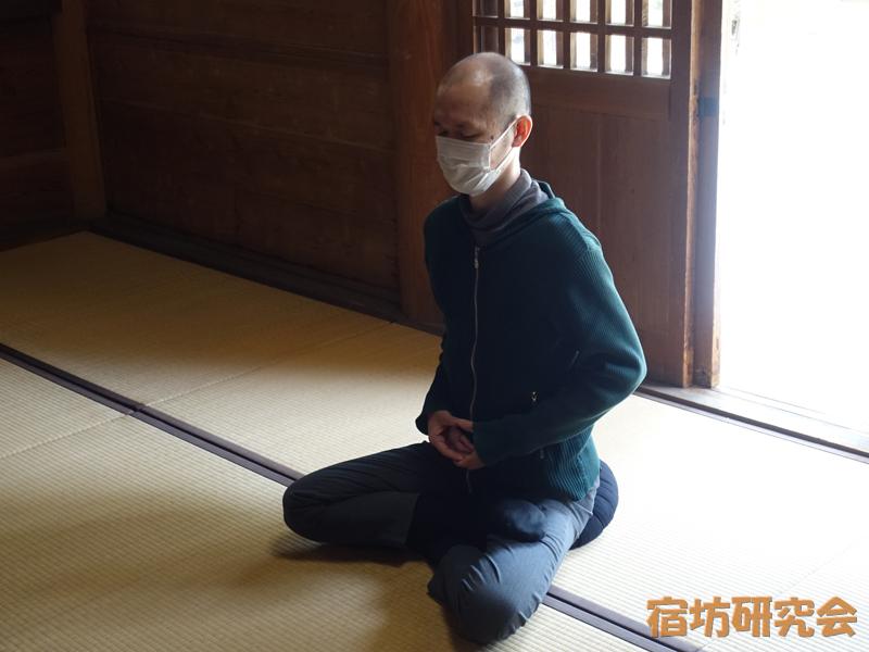 安来清水寺の坐禅
