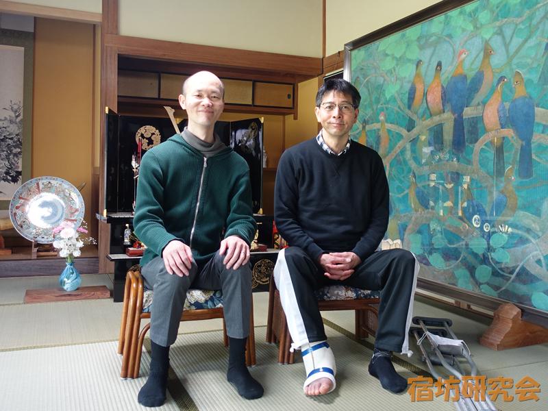安来清水寺(島根県安来市)の青砥さんとほーりー