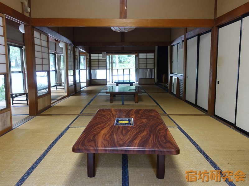 温泉寺の休憩室