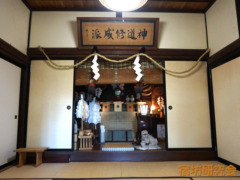 越志旅館の神殿