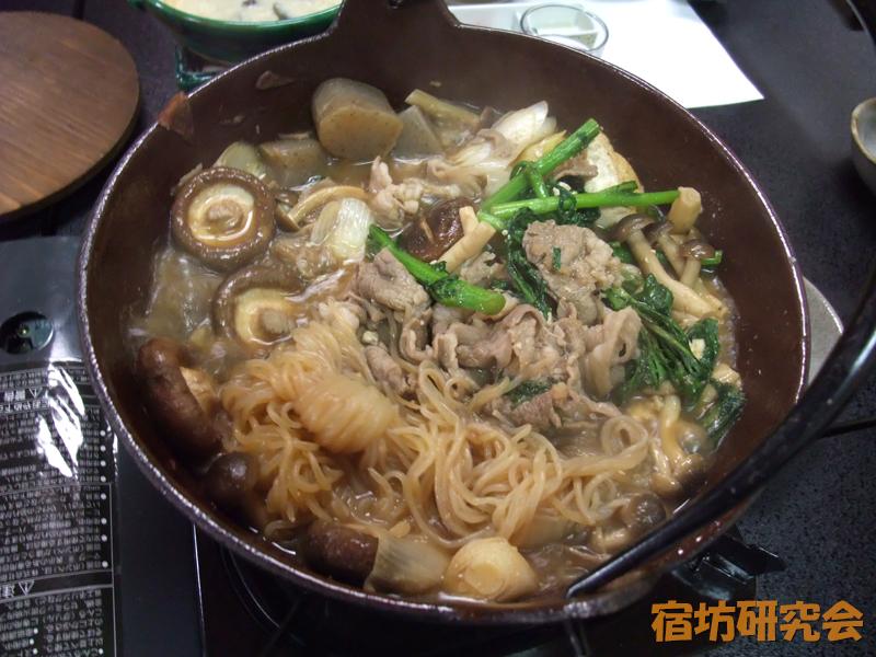 宿坊かげゆの猪鍋