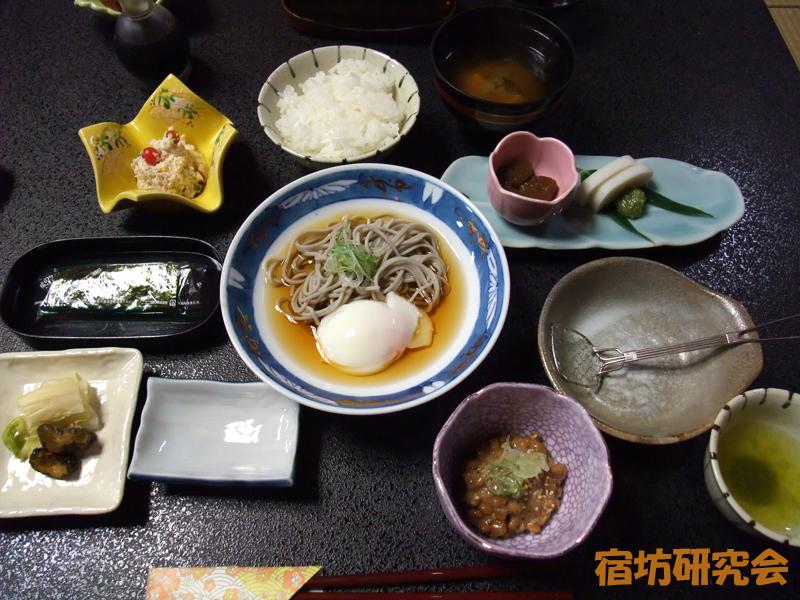 宿坊かげゆの朝食