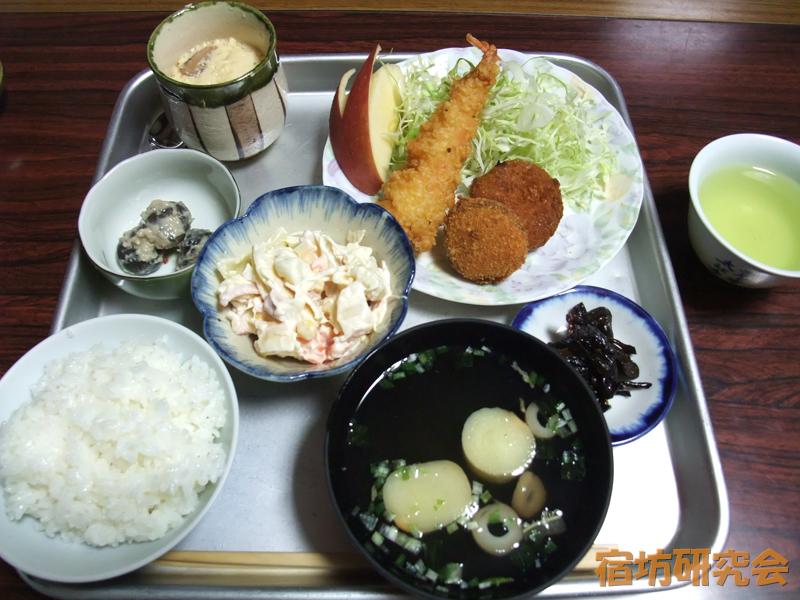 太江寺の夕食