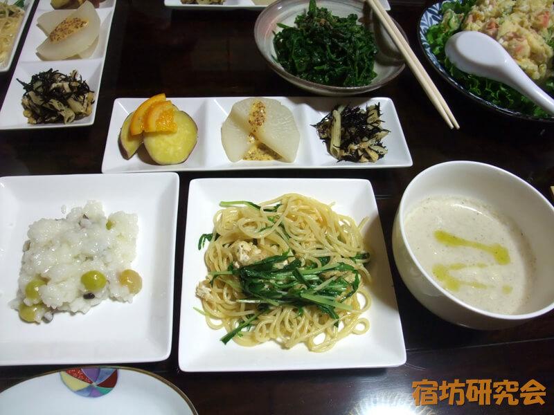 光澤寺のイタリアン精進料理