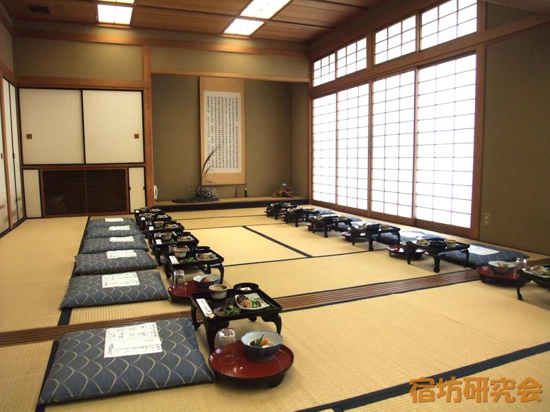 弘明寺の精進料理を頂いた部屋