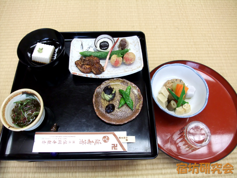 弘明寺の精進料理