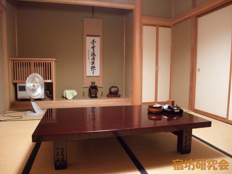 長昌禅寺の客室