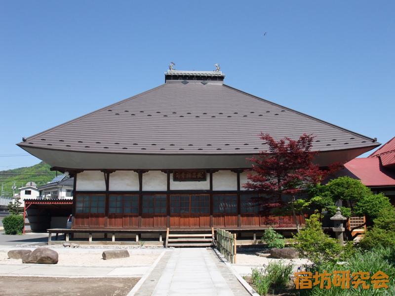 長昌禅寺の本堂