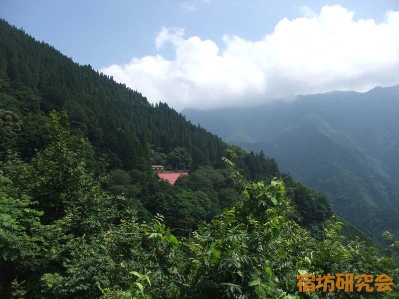 山の中にある大陽寺