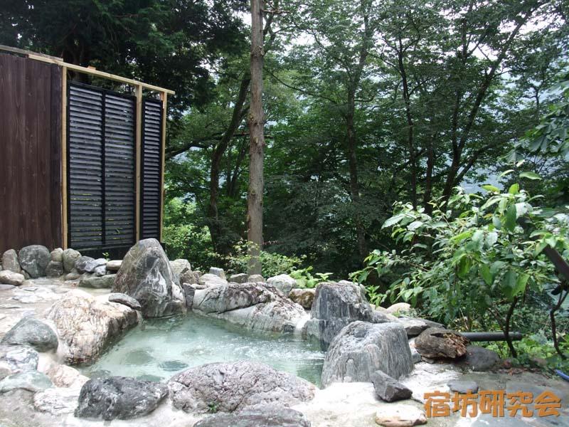 大陽寺の露天風呂