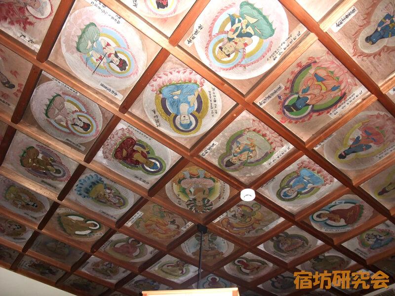 清水大師寺の天井絵