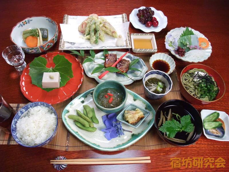 清水大師寺の精進料理