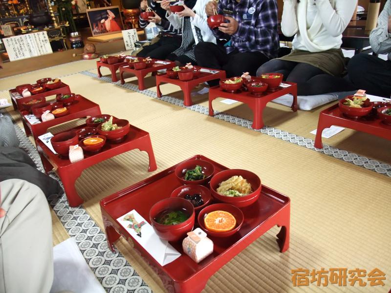 法住寺の精進料理
