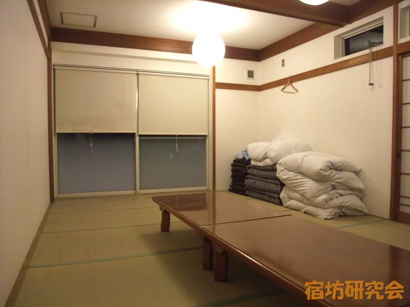 禅の湯の客室