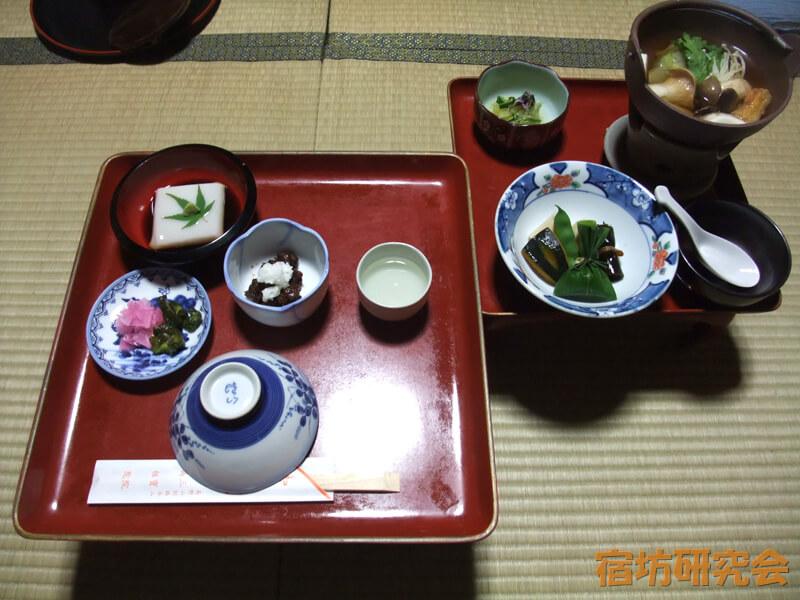 三宝院の精進料理