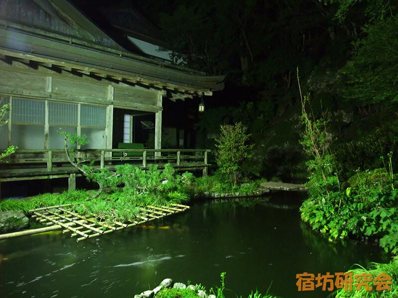 三宝院の庭園ライトアップ