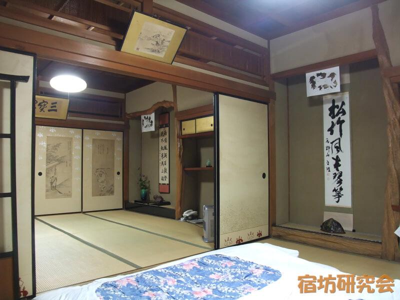 三宝院の客室