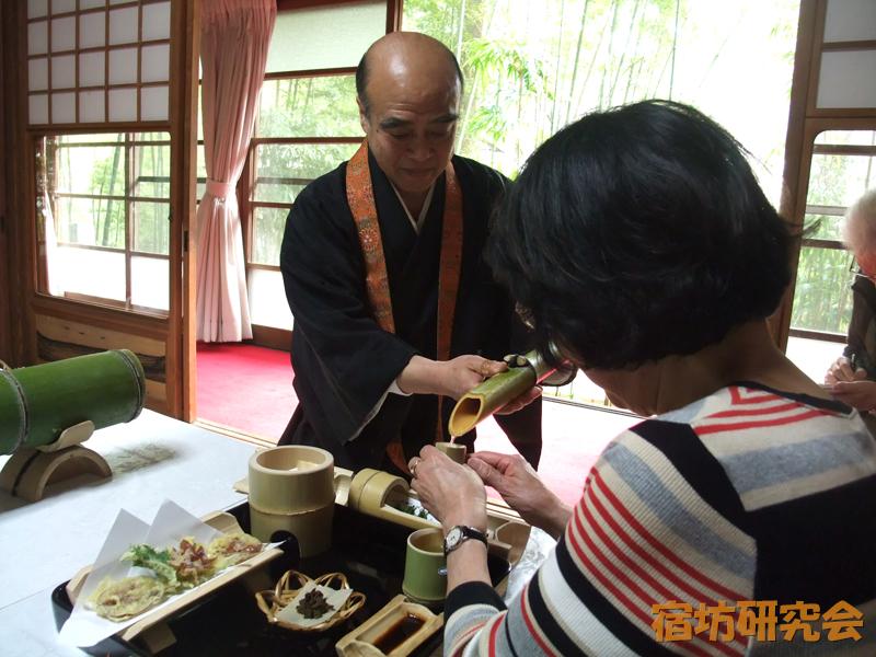 竹寺の住職とお酒