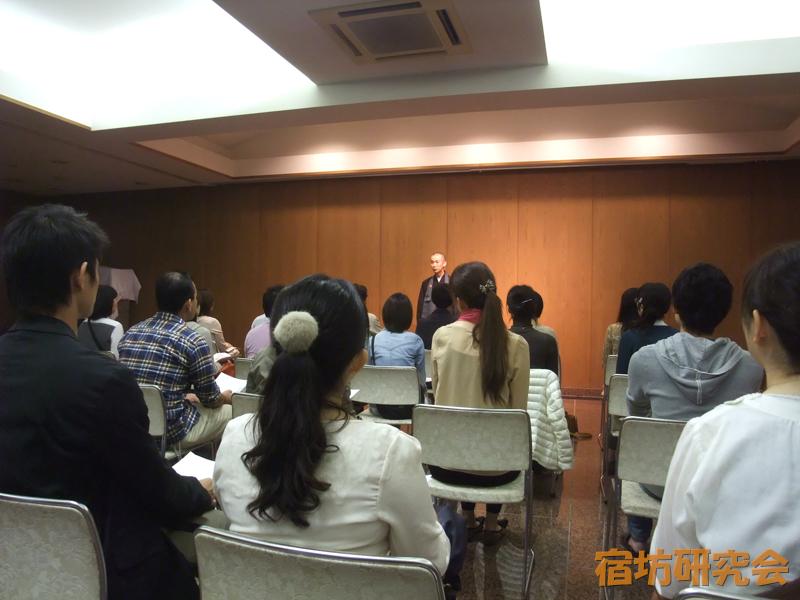 長福寺の座禅説明