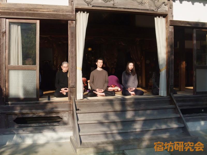 正覚寺の坐禅