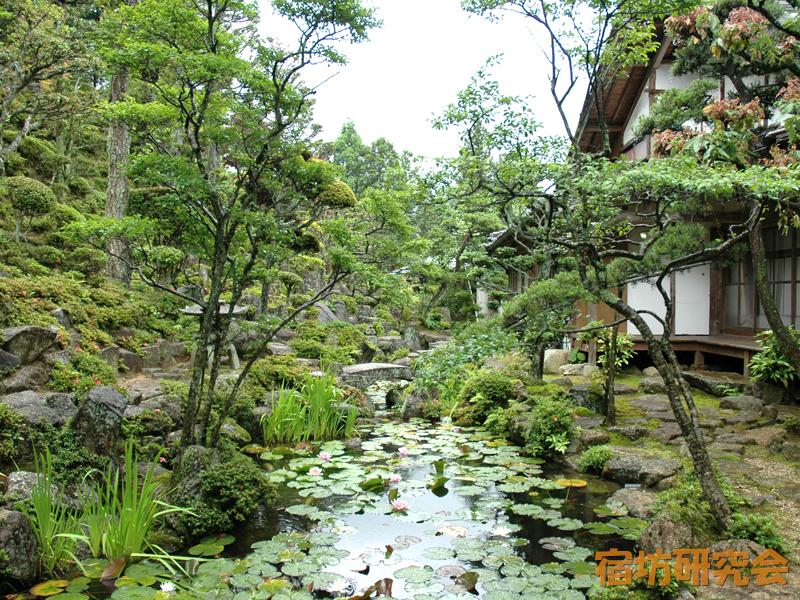 永昌寺の庭園