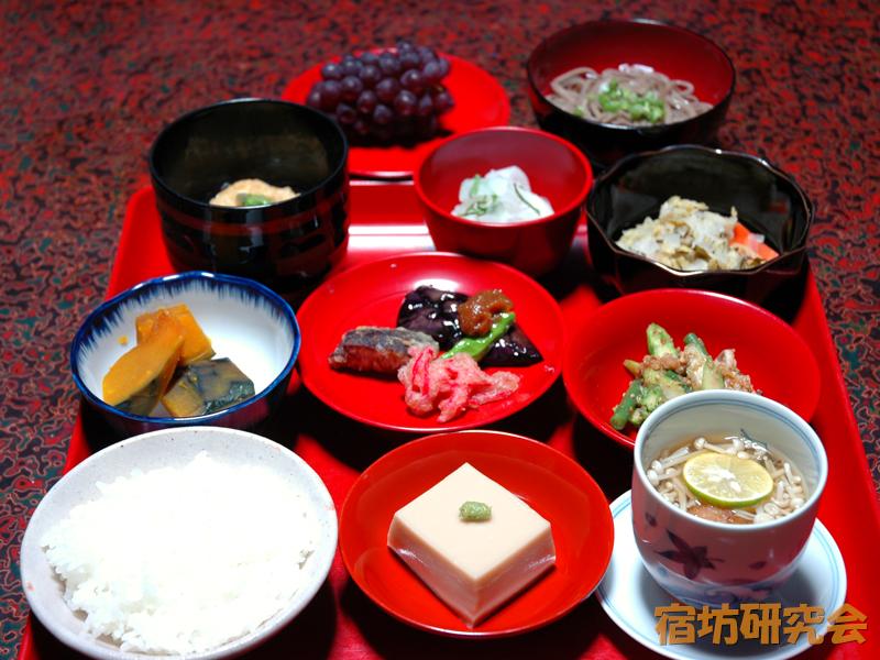 永昌寺の精進料理