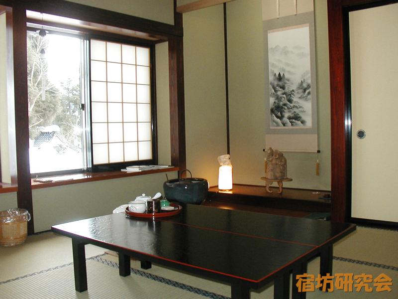 静寂庵の客室