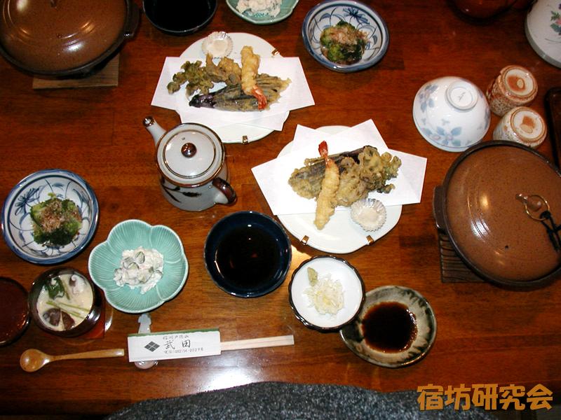武田旅館の夕食